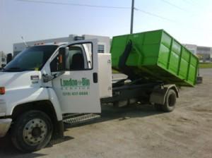 Garbage Dumpster Dropoff