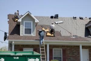Roofing bin
